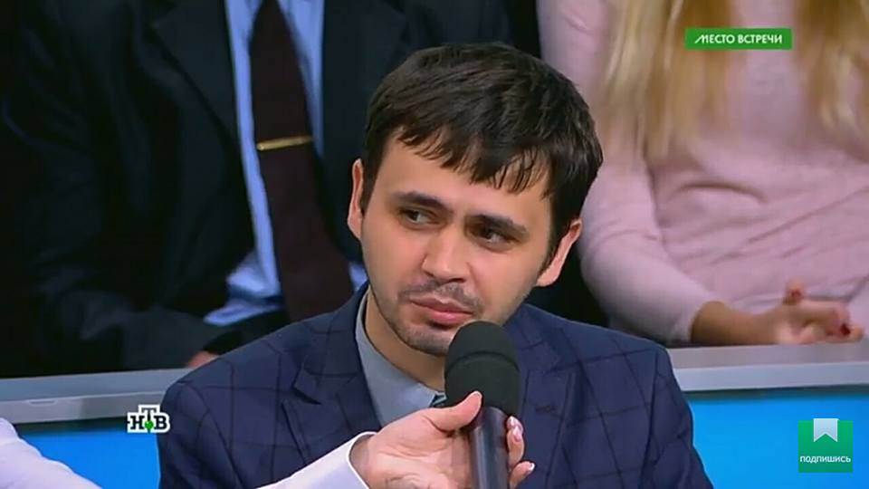 Укро-грузинский нацик ищет работу. Российское телевидение, принимай!