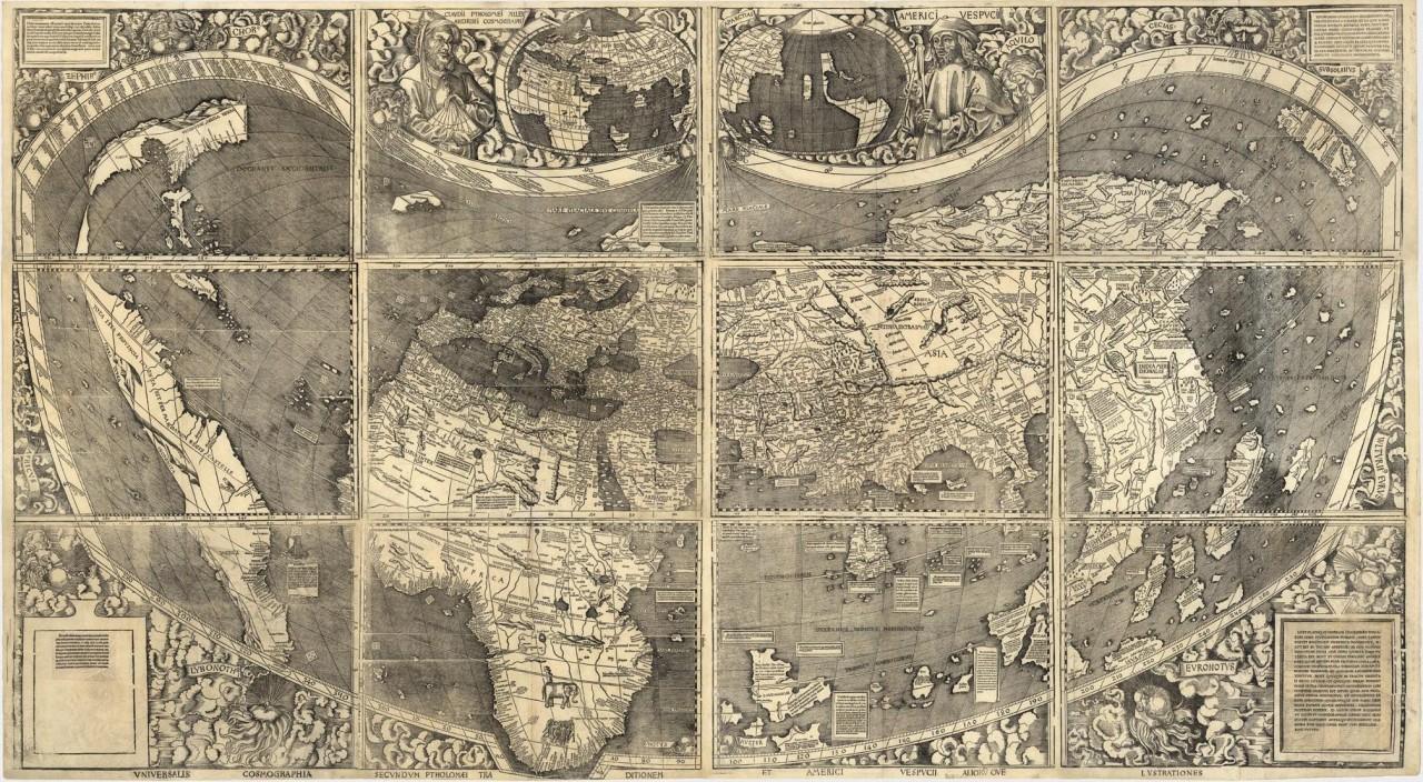 Кто нарисовал карты ледниковой эпохи?