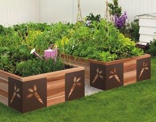 Огород без перекопок - высокие грядки .