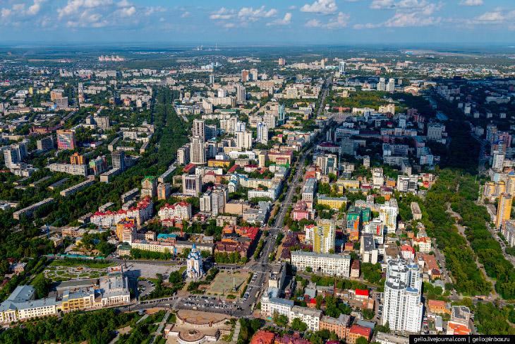 Хабаровск с высоты: город на…