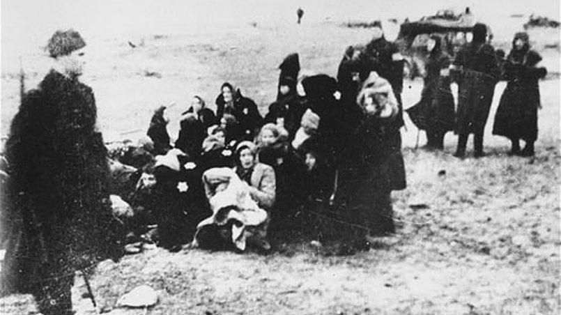 Что помнят об убитых евреях …