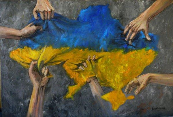Украина: Зеркало США. Паны дерутся, а у холопов чубы трещат