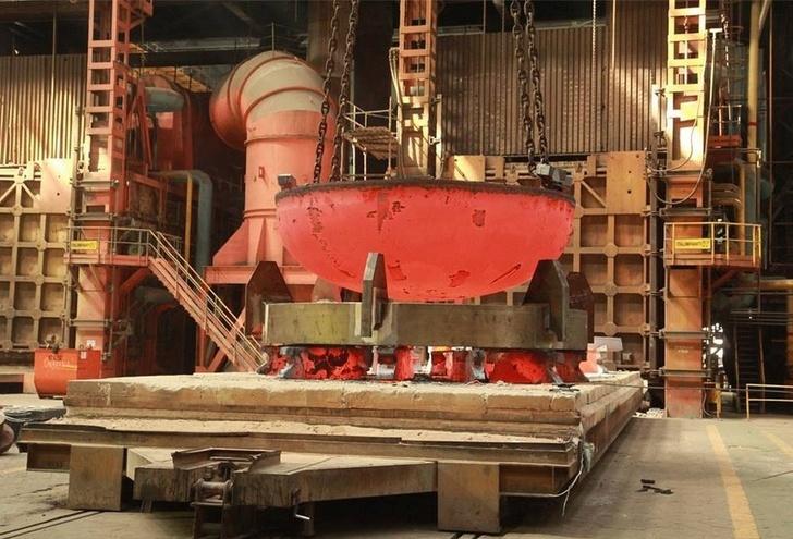 «АЭМ-технологии» изготовила днище корпуса реактора по проекту ВВЭР-ТОИ