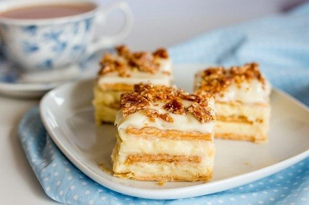 Торт из печенья с изумительно нежным и вкусным творожным кремом