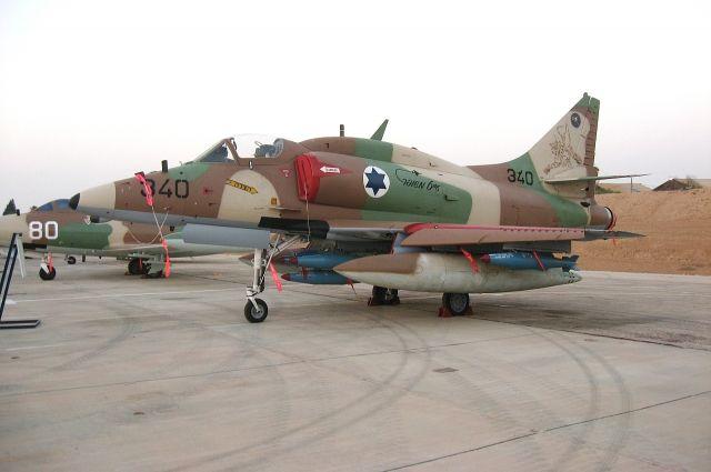 Израиль нанес удар с воздуха на границе сектора Газа с Египтом