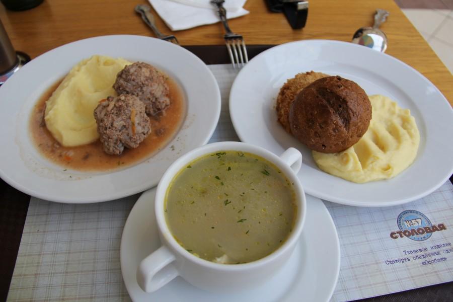 В столовой Госдумы стоимость депутатского обеда выросла на четверть