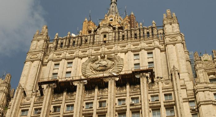 МИД требует наказать осквернивших памятник маршалу Коневу вандалов