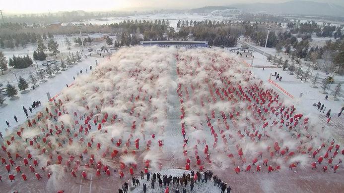 На северо-востоке Китая отпраздновали день зимнего солнцестояния
