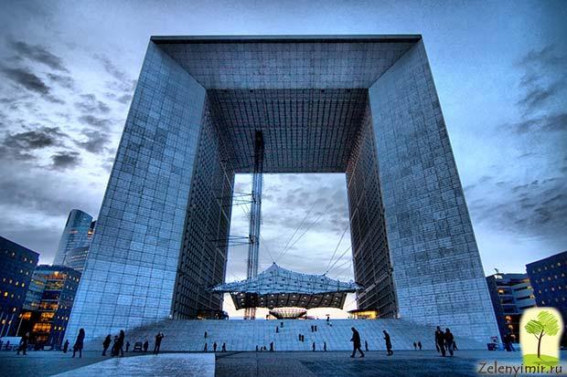 Большая арка Дефанс в Париже – современный вариант Триумфальной арки - 2
