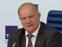 Зюганов готов пойти в президенты РФ