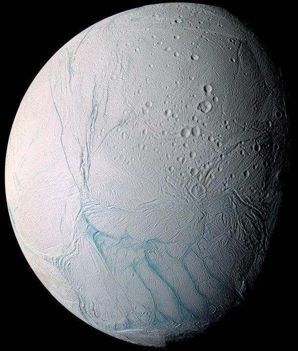 На Энцеладе нашли сложную органику Энцелад, кассини, космос, факты