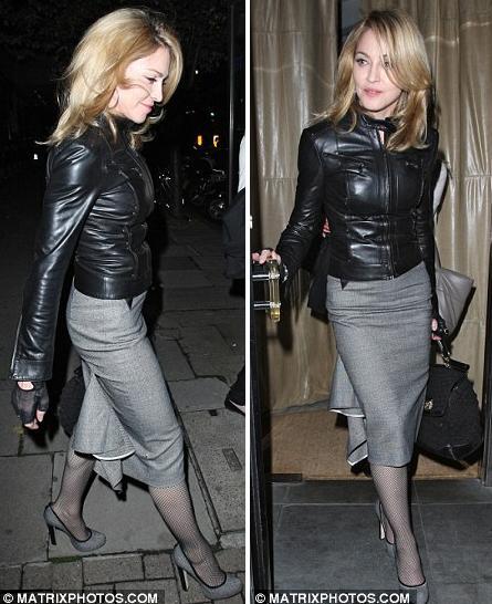 Мадонна в 51 год. Чтобы так выглядеть, она тренируется по два часа шесть дней в неделю.
