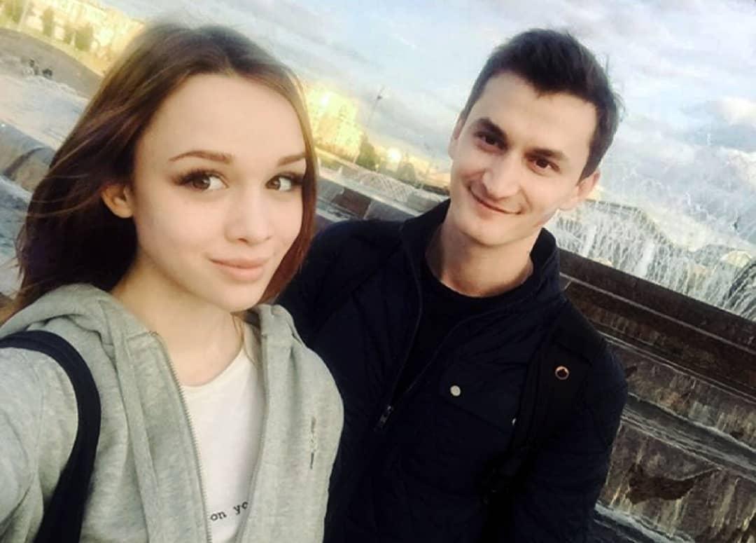 Диана Шурыгина и ее бывший муж оператор первого канала