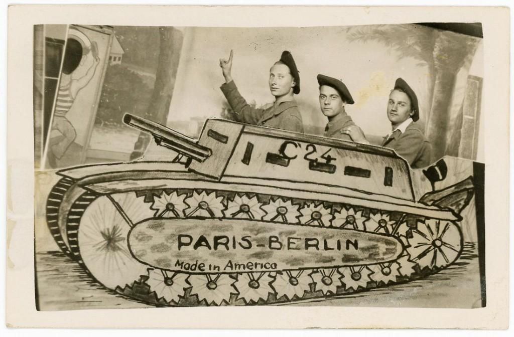 Это была лихая Первая мировая, солдаты фотошопили как могли