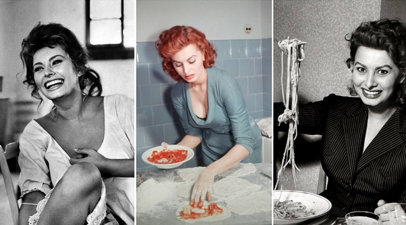 спагетти с лимоном и чесноком