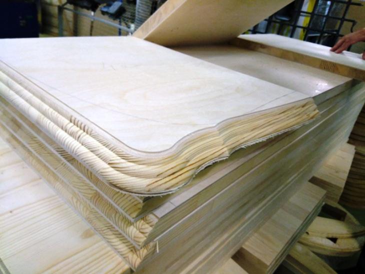 как делают мебель из натурального дерева
