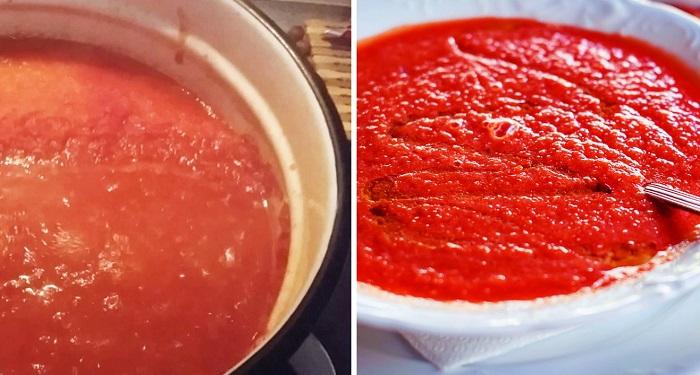 аджика из помидоров и перца