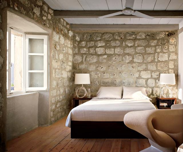 Блоки в интерьере стен