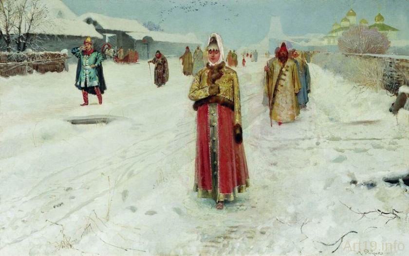 Исторические картины Андрея Петровича Рябушкина