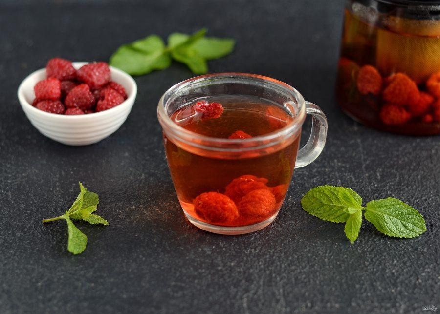 Чай при простуде: ягодный, имбирный, на травах