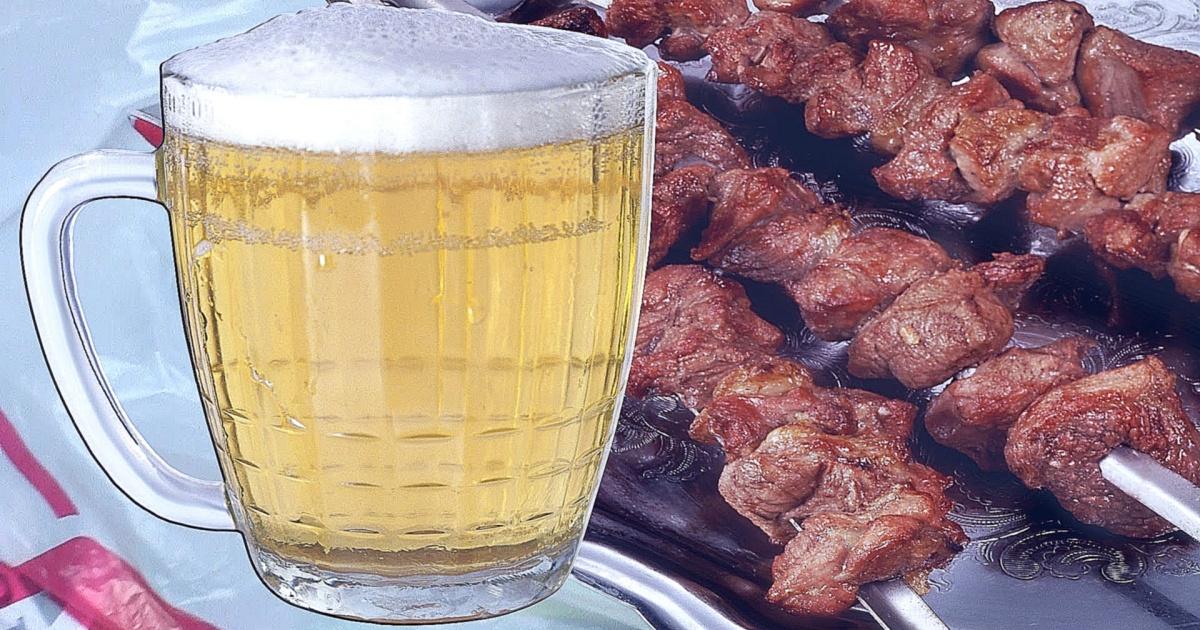 Шашлык в пиве: быстрое приготовление — отменный результат