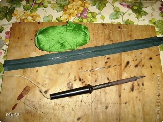 Мастер-класс, Вязание крючком, : Контейнер для мелочей и косметичка. Нитки . Фото 3