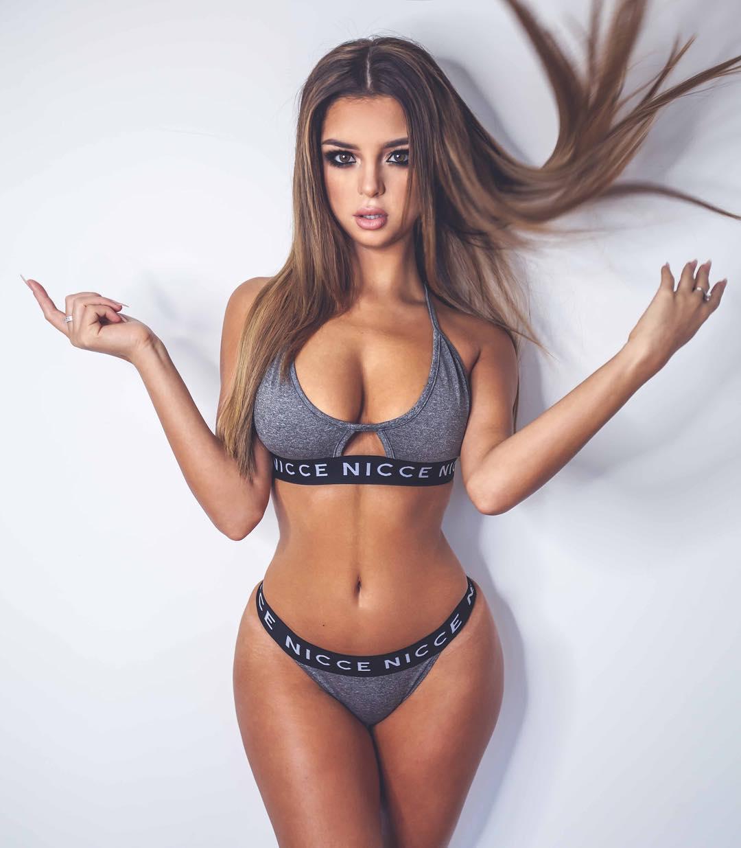 Perky b cup boobs