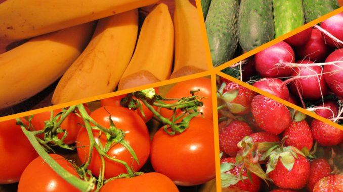 Какие овощи, фрукты и ягоды …