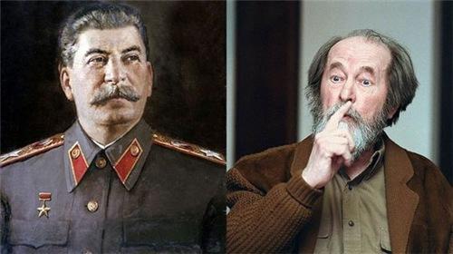 Разговор сталиниста с солженистом.