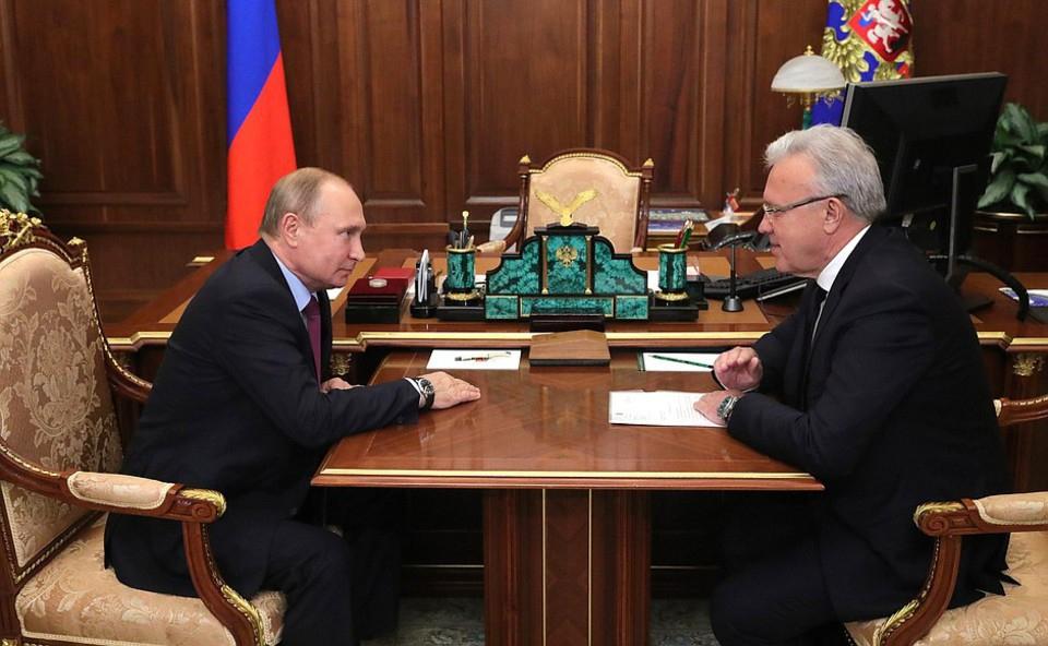 Путин обсудил с врио губерна…