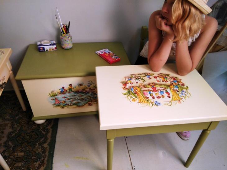 предметы детской мебели