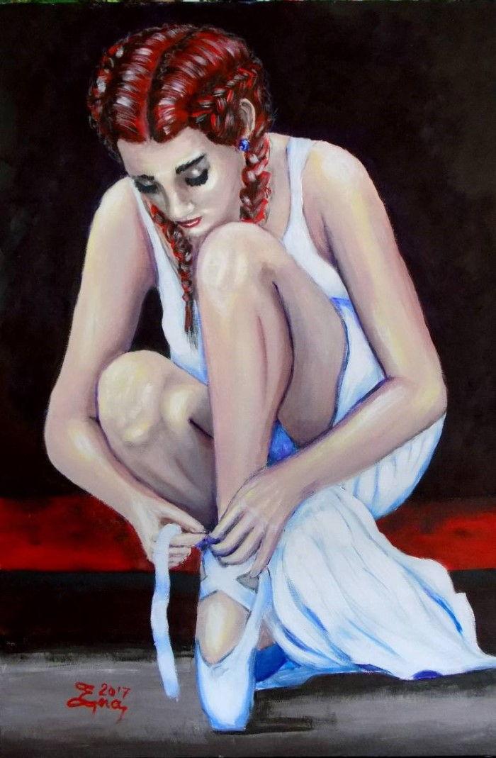 Искаженное отражение. Британский художник. Nick Ercsei