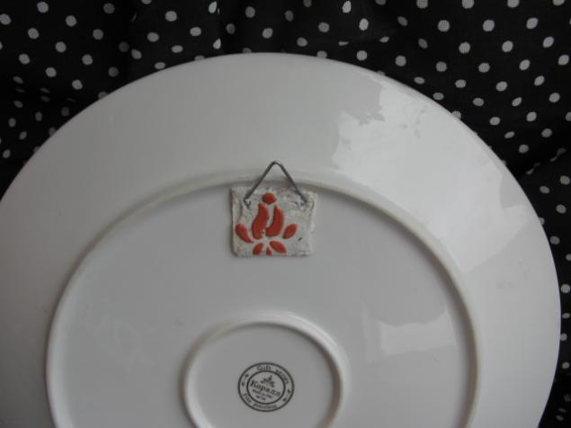 Крепление декоративные тарелки на стену своими руками 4