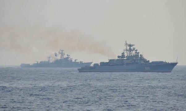 Российские моряки готовы потренироваться на американцах