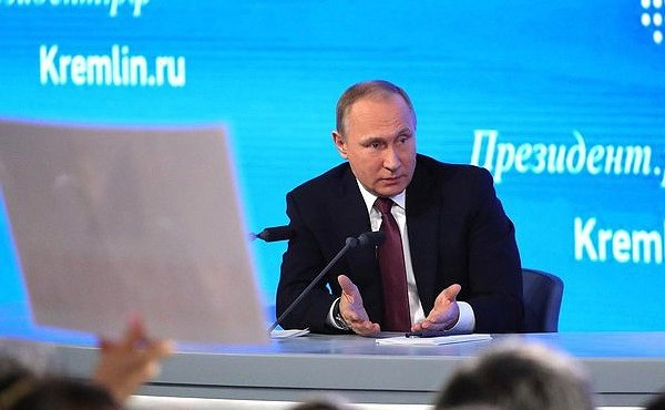 Большая пресс-конференция Президента РФ Путина начнется в 12.00. Текстовая онлайн-трансляция