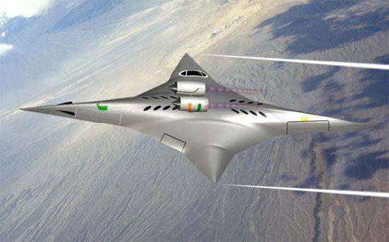 NASA профинансирует разработку оригинального самолета