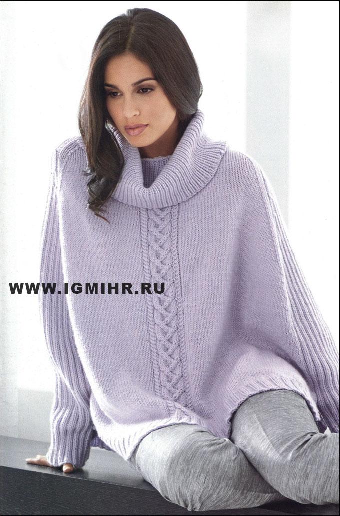 Пуловеры Вязание спицами, рукоделие Вязание спицами из кашемировой пряжи