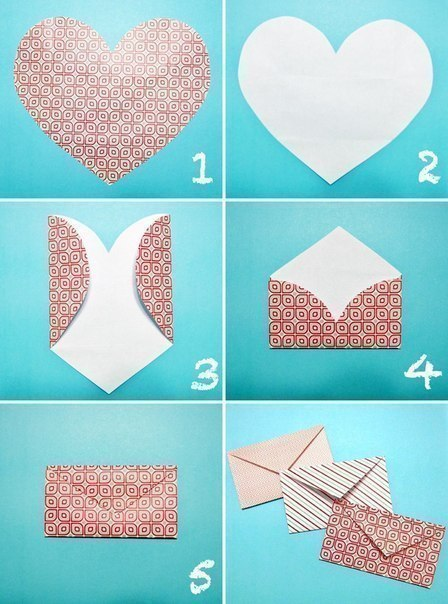 Как сделать простой конверт