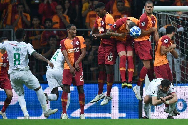 «Локомотив» проиграл «Галатасараю» в матче Лиги чемпионов со счетом 3:0
