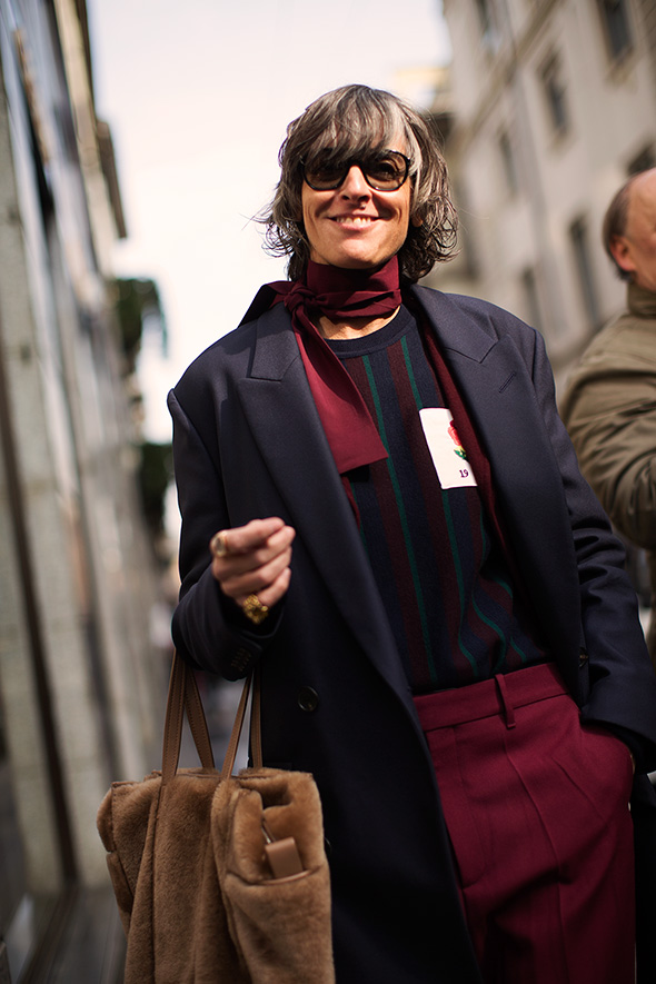 On the Street…Ana, Milan