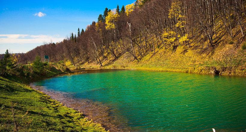 Сарва: загадочное озеро-родник в Башкирии, в который впадает подземная река