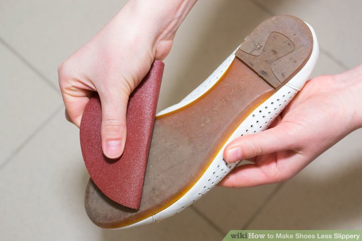 6. Скользкая обувь Лайфхак, массаж, обувь, помощь, пятна, узкая