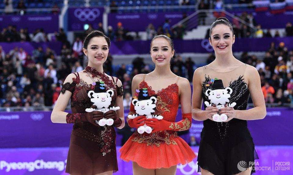 15-летняя фигуристка Алина Загитова принесла первое золото России Олимпиады в Пхенчхане и другие события Олимпиады