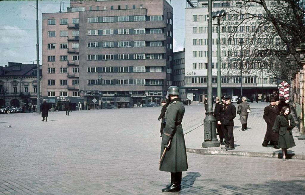 Немецкие войска в Болгарии в 1941году