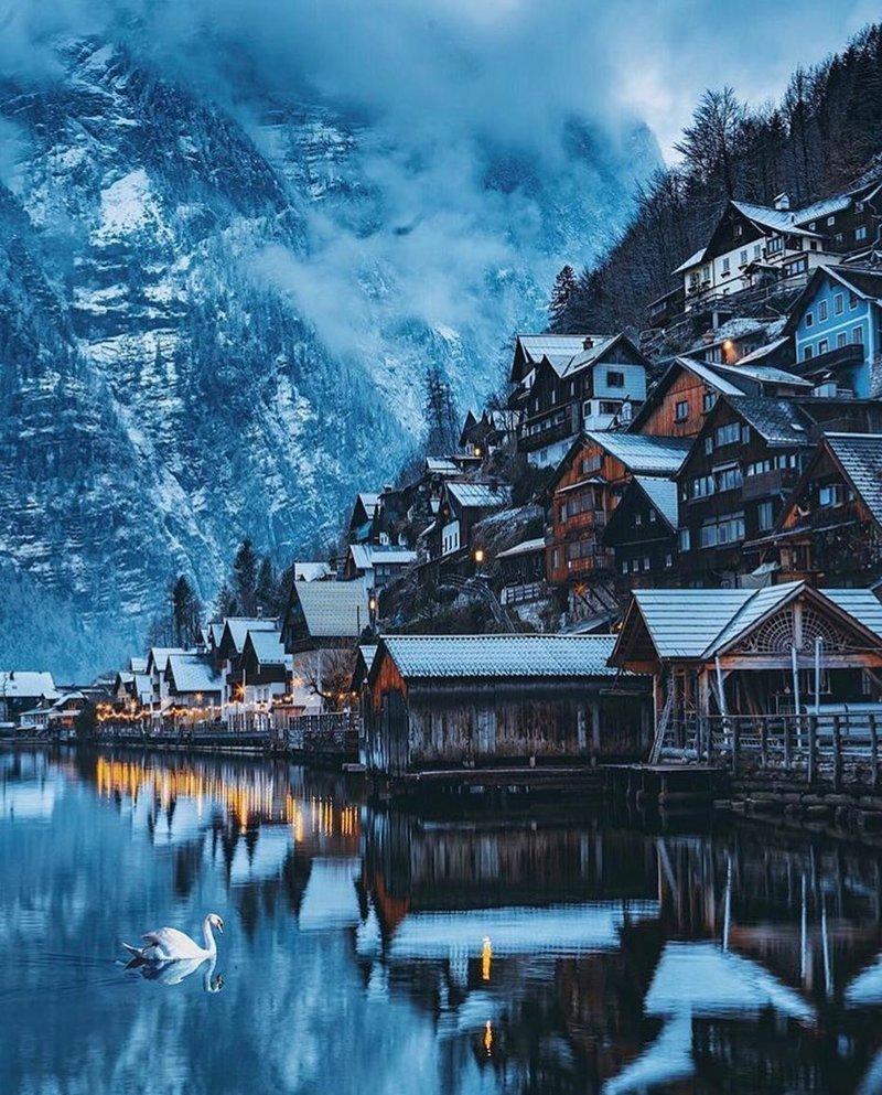 Hallstatt, Austria красивые места, мир, планета, природа, путешествия