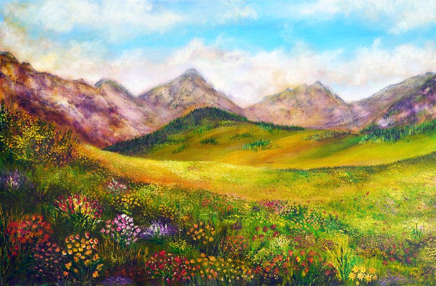 mountain_spring_by_annmbone-d4trbxm