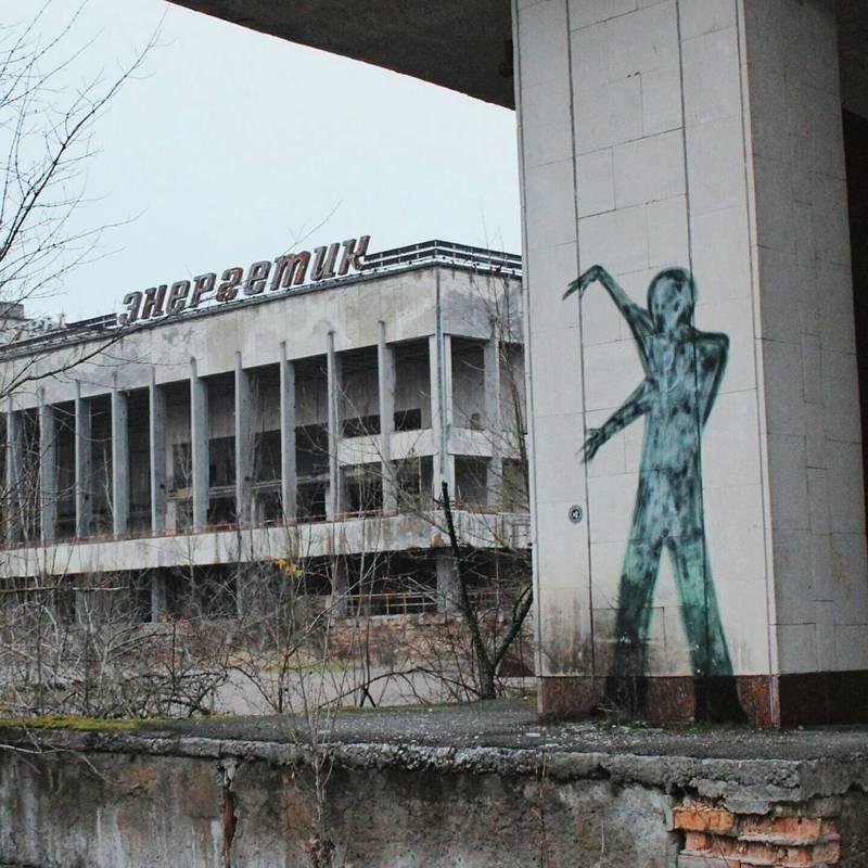 И это делает город ещё более страшным Припять, Чернобыль, зона, туризм, чаэс, экстрим