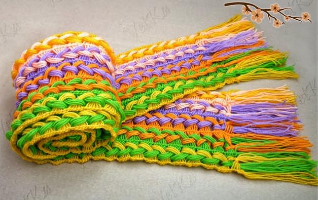 Нестандартные способы вязания крючком