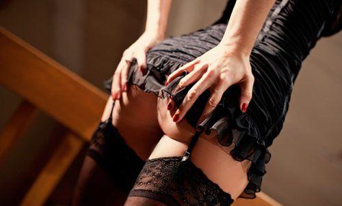 эротические фото красиво одетых девушек