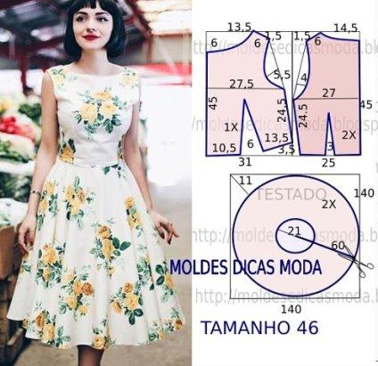 Простые летние платья пошив